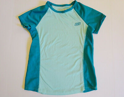 Girls Sketchers Active Wear Tennis Athletic Sports Shirt Top size 7/8