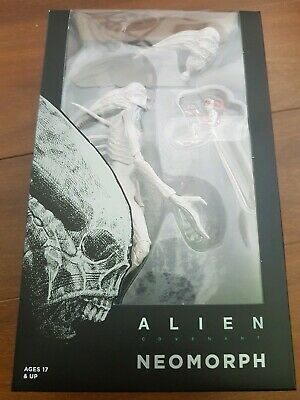 "NECA Alien Covenant Neomorph White 7"" Action Figure 1:12 Collection 2017 New"