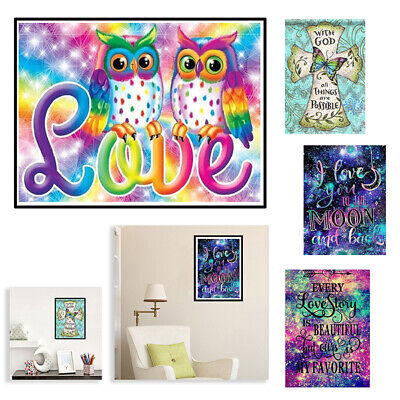 Full Drill Family Love Letter 5D Diamond Painting Picture DIY Cross Stitch Decor