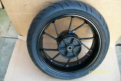 Yamaha mt07 rear wheel with allmost new tyre