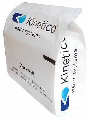 KINETICO BLOCK SALT FOR WATER SOFTENERS 6 x 4kg FREE EXPRESS DELIVERY