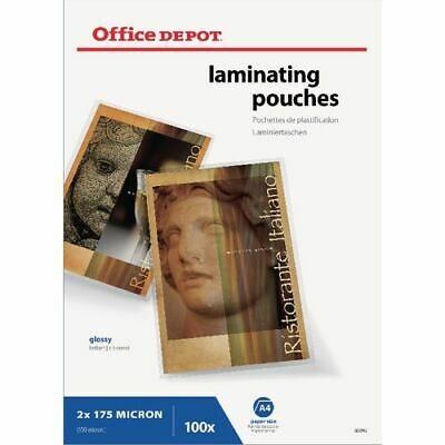 Office Depot Laminating Pouches 350 Microns 100 Pieces