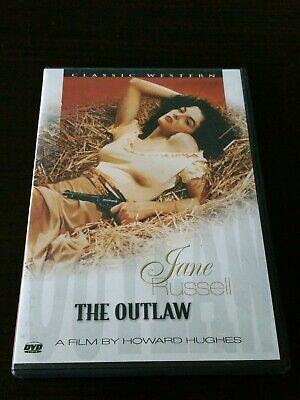 The OUTLAW 1943 Starring Jane Russell DVD Western Movie Howard Hughes Film
