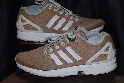 buy popular 45e9e 6ad3e ADIDAS ORIGINALS ZX Flux Mens Multicolour Trainers Uk Size 11