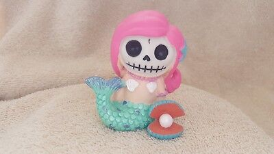 Furrybones Ariel the Mermaid Figurine Skull in Costume Gift New Free Shipping