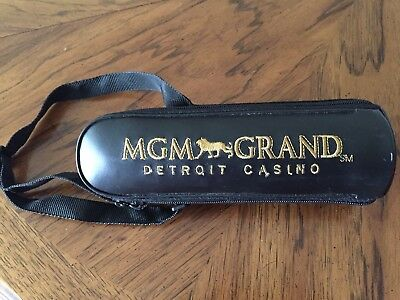 Mgm Grand Detroit Casino Thermos In Carrying Case - Never Used