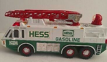 Hess Ladder Fire Truck 1996  batteries included.                             s