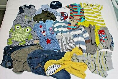 Baby Boys 3-6 months Clothes Bundle including Sleeping Bag