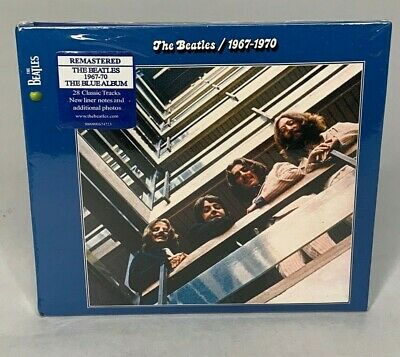 "The Beatles ""1967-1970"" U.S 2 CD - The Blue Album Set Remastered CD New, SEALED"