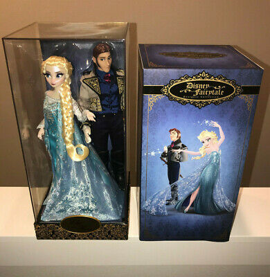 Disney Fairytale Designer Collection Frozen Elsa Hans Limited Edition Doll NEW