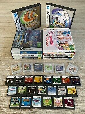 Nintendo DS & 3DS Games **Pick from the list**  (AUS PAL 3DS DS DSi XL Lite)