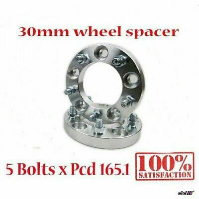2 pcs 30mm Wheel Spacer Adapter 5x165.1 5x6.5 Land Rover Defender Discovery