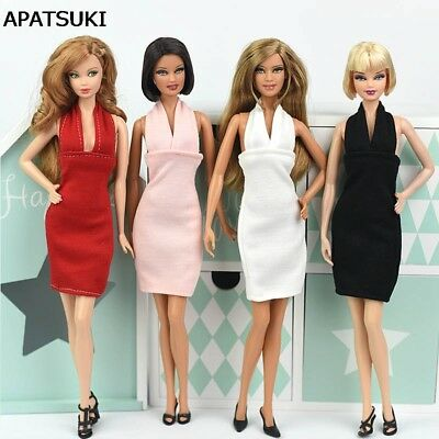 "Fashion Doll Clothes For 11.5"" Doll Outfits Evening Dress For 1/6 Dollhouse Toy"