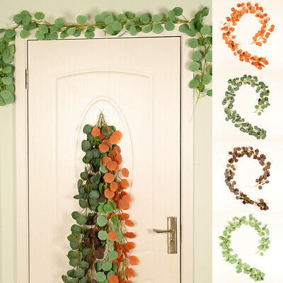 155cm Artificial Greenery Vine Green Leaves Grape Garland for Conservatory