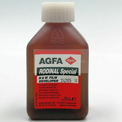 NEW B/W AGFA RODINAL SPECIAL 125ml│RARE CHEMISTRY B&W FILM DEVELOPER OLD VINTAGE