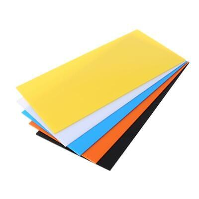 30*40cm Color Acrylic Sheet Plate Plastic Plexiglass Panel DIY Model Making Q