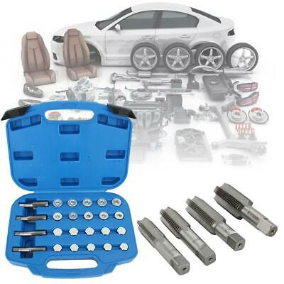 64pcs Sump Oil Pan Thread Repair Gearbox Drain Plug Tool Kit Maintenance Parts