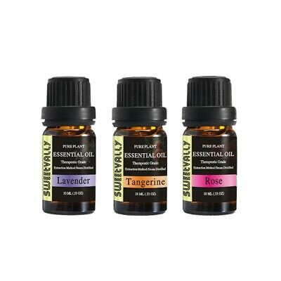 Essential Oils Set Aromatherapy Natural Pure Water-soluble Fragrances Oils 10ml