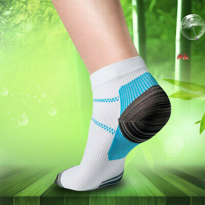1 Pair Brand New Foot Compression Ankle Socks Running Foot Support UK