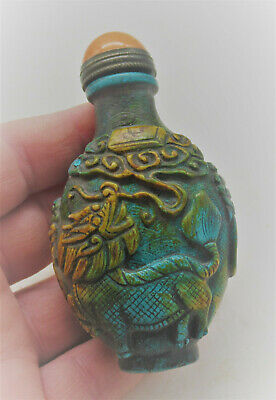 Wonderful Antique Chinese Snuff Bottle Needs Further Research