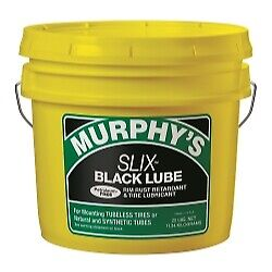 The Main Resource F1.0086 Murphy's Slix Black Tire Lubricant 8 lb. Pail
