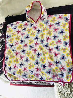 Girls Beach Towel Cover Up Age 4-8 Bnwot