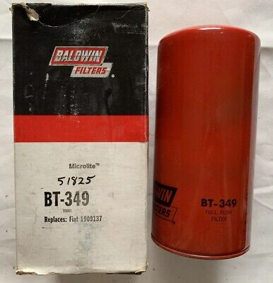 BALDWIN FILTERS BT349 Oil Filter,Spin-On,Full-Flow