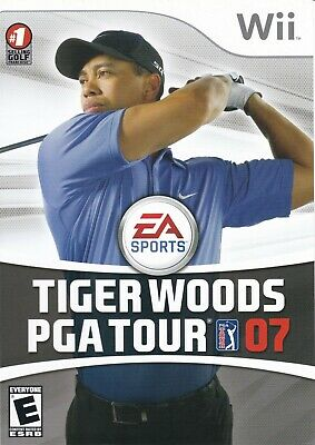 Tiger Woods PGA Tour 07 (Nintendo Wii, 2007) *COMPLETE*