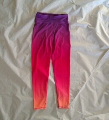 C9 Champion® Girl's Sunset Ombre Printed Performance Pink Leggings Size L(10/12)