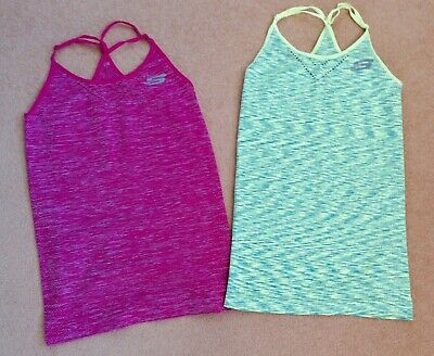 Pair of Skechers Sports Tops - XS/S 8-10