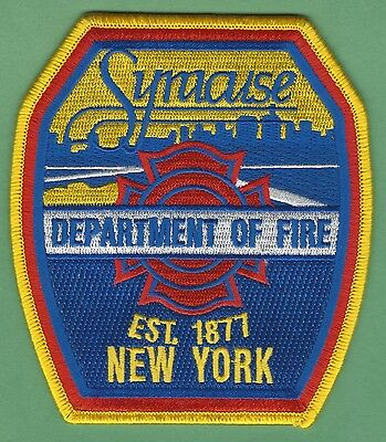 Syracuse Fire Department New York Patch