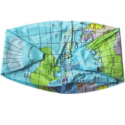 38cm Inflatable World Globe Earth Map Teaching Geography Map Beach Ball For I9Y8