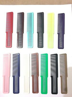 Wahl Barber Flat Top Combs - 13 Colours