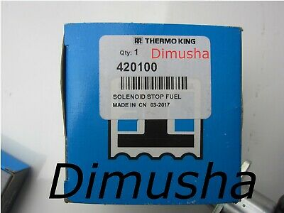 Genuine New  42-100 Solenoid Stop Fuel  for Thermo King Tripac APU or Evolution