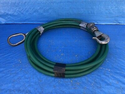 Swivel Hook & Cable Assy/ Tow/ Lifting Strop 30Ft Long