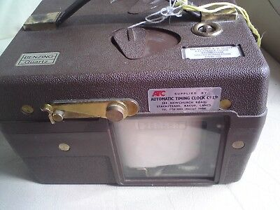 Automatic Timing Clock Co Ltd,Benzing  Pidgeon Timer, Used,See-Below.