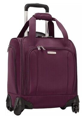 Samsonite Spinner Underseat 90506-5377 Potent Purple With USB Port NWT MSRP $145