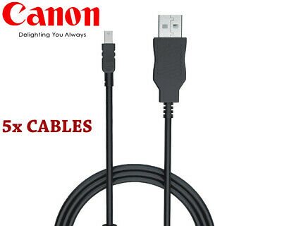 Vani USB Cable Cord for Canon PowerShot A570 IS A580 A590 IS A610 A620 A630 A640
