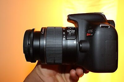 EXCELLENT Canon EOS Rebel T6 DSLR Camera with 18-55mm II Lens (3 LENSES)