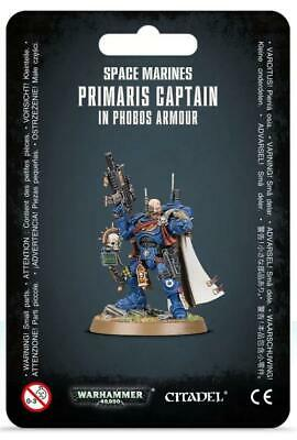 GW 40k Space Marines HQ Primaris Captain in Phobos Armor Pack MINT