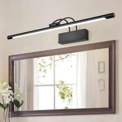 Antique LED Wall Sconces Mirror Front Picture Light Makeup Bathroom Adjustable
