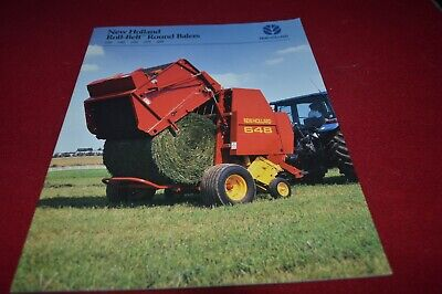 New Holland 638 648 658 678 688 Round Baler Dealer's Brochure AMIL15