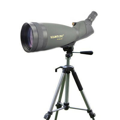 Visionking 30-90x100 Waterproof Spotting scope Birding Large Heavy Duty Tripod