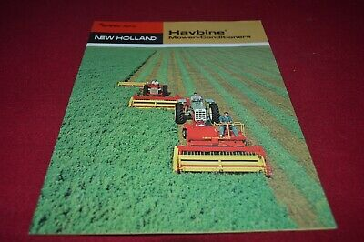 New Holland 467 469 1469 Haybine Mower Conditioner Dealer's Brochure AMIL15