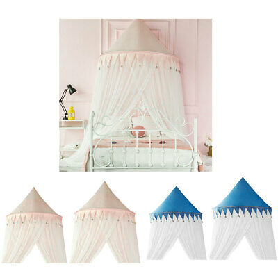 Kids Room Princess Gauzy Castle Mosquito Net Bed Canopy Netting Play Tent