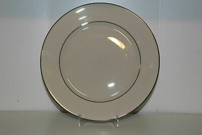 "Lenox China Maywood (No Design) 10.75"" Dinner Plate(S)-Platinum Trim"