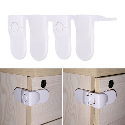 Right Angle Wardrobe Door Baby Safety Lock Children Protector Toddler Kids