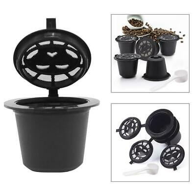 6 Reusable Coffee Capsules Cup Filter for Nescafe Dolce Gusto Refillable Brewers