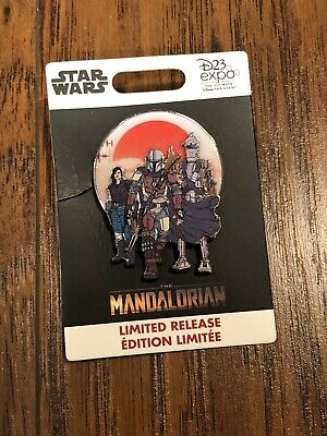 D23 Expo 2019 The Mandalorian Limited Release Star Wars Pin Exclusive Event Pin