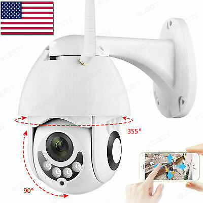 Wireless HD 1080P WiFi 5X ZOOM CCTV Outdoor IP Camera Home Security IR Webcam2UW